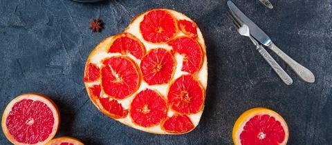 Torte mit Grapefruit Kuchen