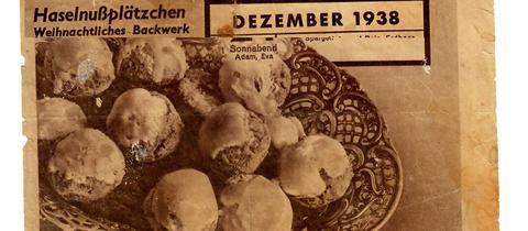 Haselnussplätzchen - Rezept von 1938