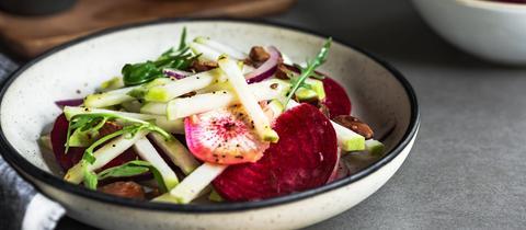 Radieschen Rettich Salat