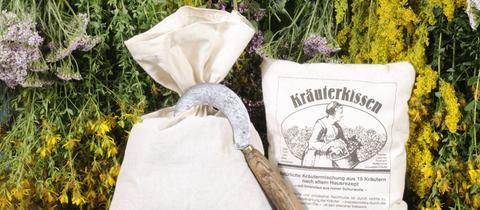 Kräuterkissen, Kräutersack, Kräuter