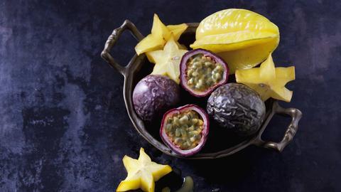 Maracuja und Sternfrucht.