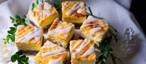 Mohn Pfirisch Kuchen