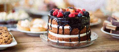 Neuer Tortentrend: Naked Cake