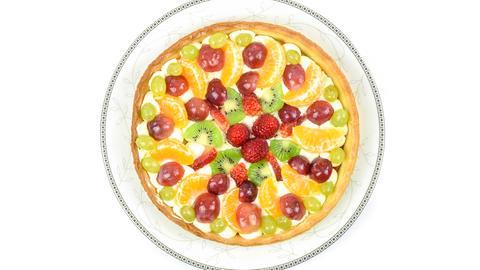 Torte mit Früchten