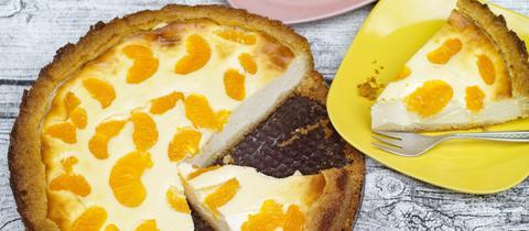 Schmand-Madarinen-Kuchen