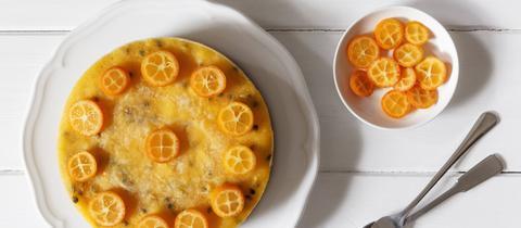 Torte, Kuchen, Orange