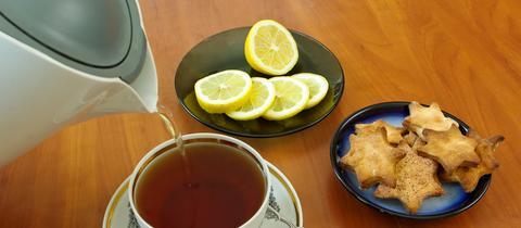 Plätzchen Zitrone