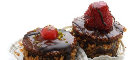 Haselnuss-Schokoladentörtchen