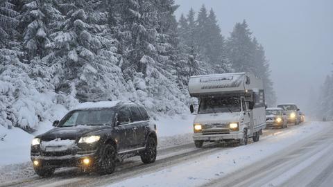 Wohnmobil, Winter
