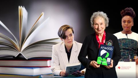 Antje Rávik Strubel, Margaret Atwood imd Chimamanda Ngozi Adichie