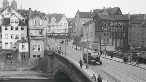 Blick auf Kassel vor dem Zweiten Weltkrieg