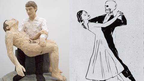 Pietá und Totentanz