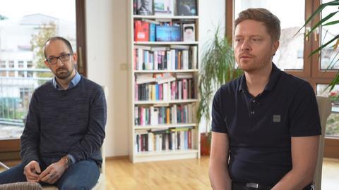 Martin Benninghoff und Oliver Georgi