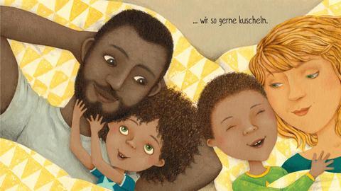 """Zeichnung aus  """"Ich bin anders als du""""  von Constanze Kitzing"""