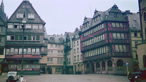 Blick in die Frankfurter Altstadt