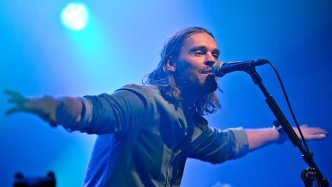 Ingo Pohlmann auf einer Bühne