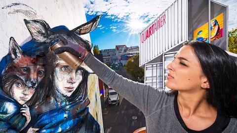 Montage Sprayer und Murals