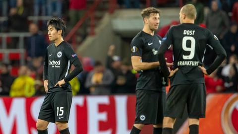 Eintracht nach der Niederlage gegen Schalke 04