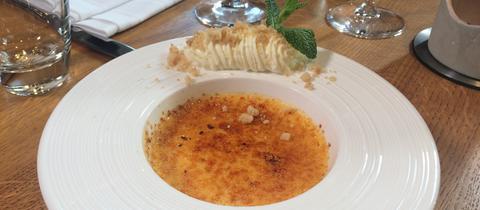 Crème Brûlée aus Schafsmilch