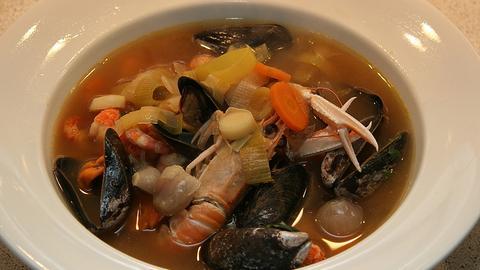 Bouillabaise - eine französische Fischsuppe
