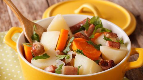 Wurzel-Rüben-Kartoffel-Eintopf