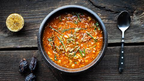 Hessen à la carte - Marokkanisch genießen: Harira – Ramadan Suppe