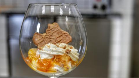 """Mandarin Advent Dessertgläschen """"Mandarinen Saison"""""""
