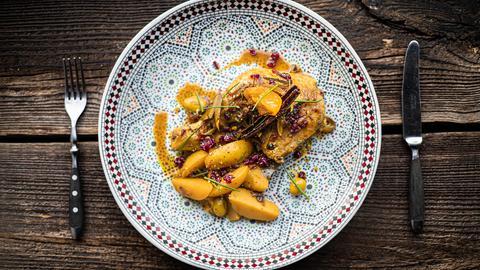 Hessen à la carte - Marokkanisch genießen: Marokkanisches Hühnchen