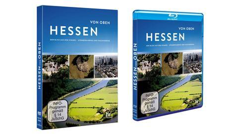 """""""Hessen von oben"""" als DVD und Blu-Ray"""