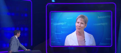 """Mundart""-Kandidaten im Hessenquiz-Studio"