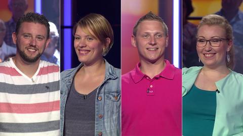 Die Kandidaten (v.li.): Steffen aus Kassel, Julia aus Marburg, Konrad aus Lauterbach-Heblos und Meike aus Erlensee