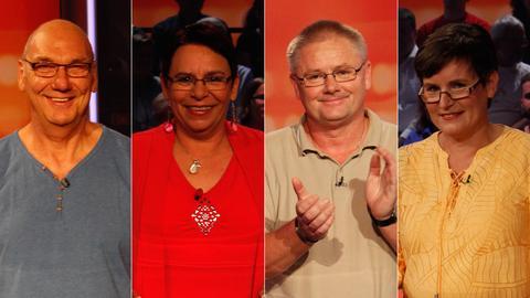 Die Kandidaten (v.li.): Achim aus Trebur, Christiana aus Wächtersbach, Olaf aus Volkmarsen und Marion aus Neu Ansbach