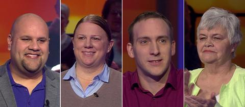 Die Kandidaten (v.li.): Stephan aus Grünberg, Stefanie aus Dreieich, Patrick aus Mainz Kostheim und Margit aus Schotten