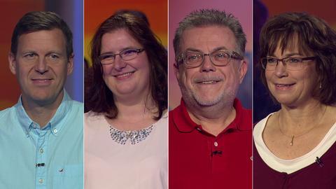 Die Kandidaten (v.li.): Steffen aus Bensheim, Elke aus Brachttal, Stefan aus Eschborn und Sabine aus Rabenau