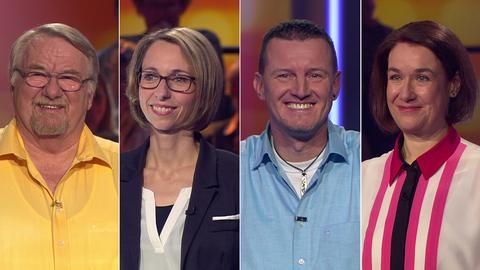 Die Kandidaten (v.li.): Volker Trautmann, Silvia Vesper, Michael Birkenbach und Susanne Geyder