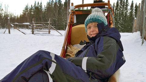 Die Ärztin Martina Rodehüser begleitet die Reise an den Polarkreis.
