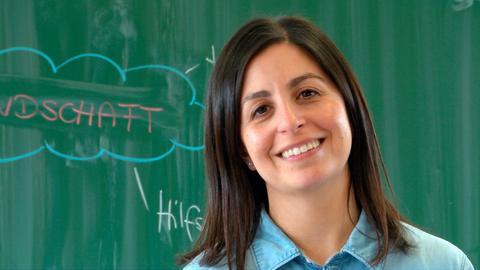 Gülsun Koc und Alexander Grund sind Lehrer an der Walter-Kolb-Schule