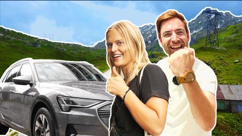 Die E-Mission: Mit dem Elektroauto über die Alpen (1)