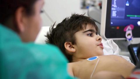 In der Kinderherzklinik - Emilio