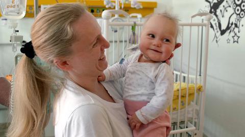 In der Kinderherzklinik - Amy