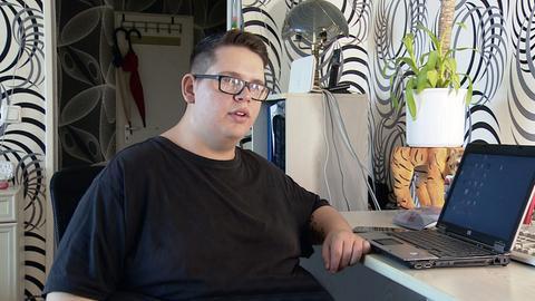 Jean Piere Isidoro hat in der Spessartklinik im hessischen Bad Orb achtzig Kilogramm abgenommen.