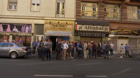 Kultkiosk Yok Yok  im Frankfurter Bahnhofsviertel - Ein Schöppchen nach Feierabend