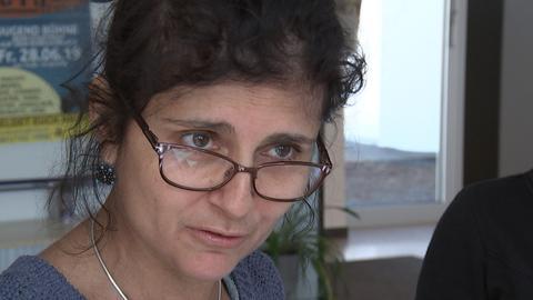 Quartiersmanagerin  Porträtfoto Adriana Oliviera