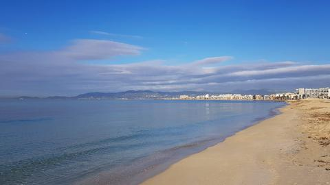 Einsamer Strand auf Mallorca