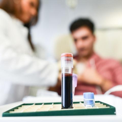 Blutprobe für Immuntherapie gegen Krebs