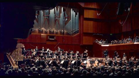 Das hr-Sinfonieorchester in der Alten Oper Frankfurt