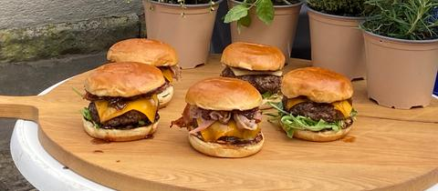 "Klaus"" Beef Burger"
