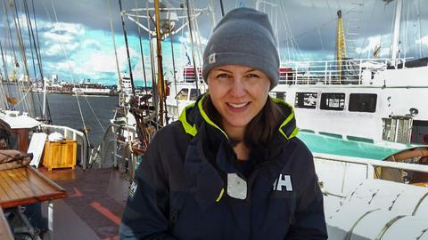 Klimaaktivistin Clara von Glasow