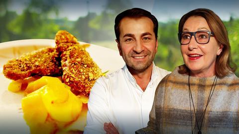 Koch's anders: Ali Güngörmüs und Ilona Nägel kochen Rehschnitzel