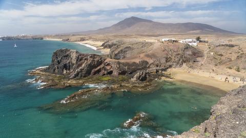 Lanzarote, Playas de Papagayo
